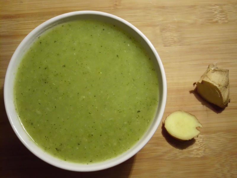 Sopa de Courgettes