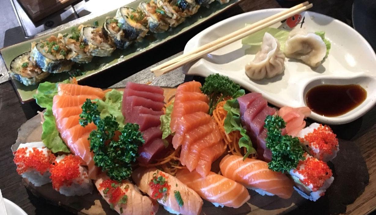 Restaurante Zen House sushi